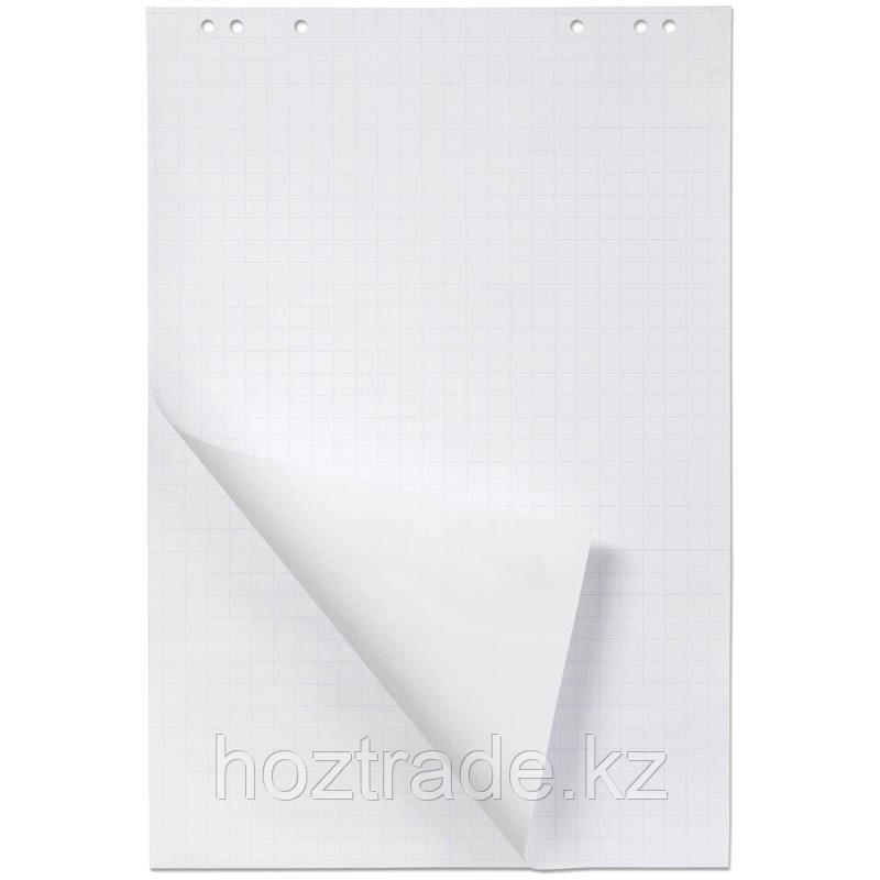 Блокнот для флипчарта OfficeSpace 67,5*98 см, 20 листов, белый