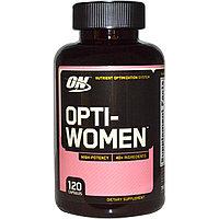 Opti-Women, Система оптимизации питательных веществ. Витамины. 120 капсул.  Optimum Nutrition, фото 1