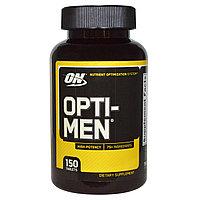 Витамины для мужчин. Opti-Men, 150 таблеток.  Optimum Nutrition
