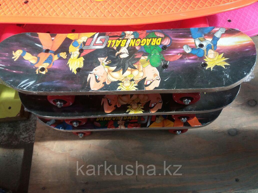 Скейтборд деревянный для детей 3-5 лет