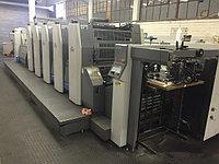 Rуobi 754+L б/у 2003г - 4-х красочная печатная машина