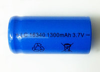 Аккумулятор  3.7V Li-ion LC 16340, 1300mA