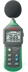 MASTECH MS6702 Цифровой шумомер с функцией гигрометра и термометра. Внесен в реестр СИ РК.