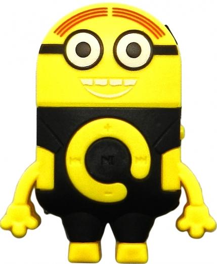 Компактный mp3 плеер Миньон  с поддержкой Micro SD (черный)
