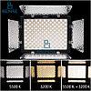YN-300 III студийный прожектор 5500К с блоком питания + стойка для студийного использование, фото 2