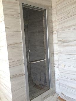 стеклянные раздвижные и распашные двери  4