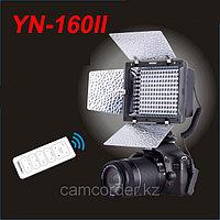 Накамерный прожектор YN-160 II LED со встроенным микрофоном