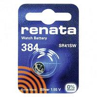 Батарейка Renata 384 SR41W 1.55V