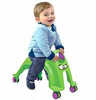 Каталка детская «ВИХРЬ» зеленый