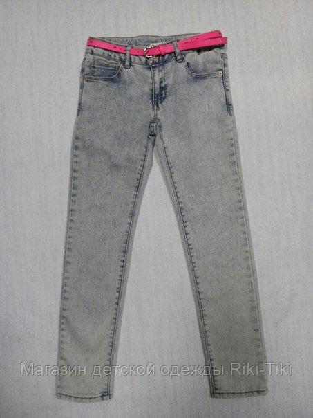 Светлые джинсы для девочки