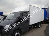 Обтекатели для Газели Next с высотой фургона 200 см, белый