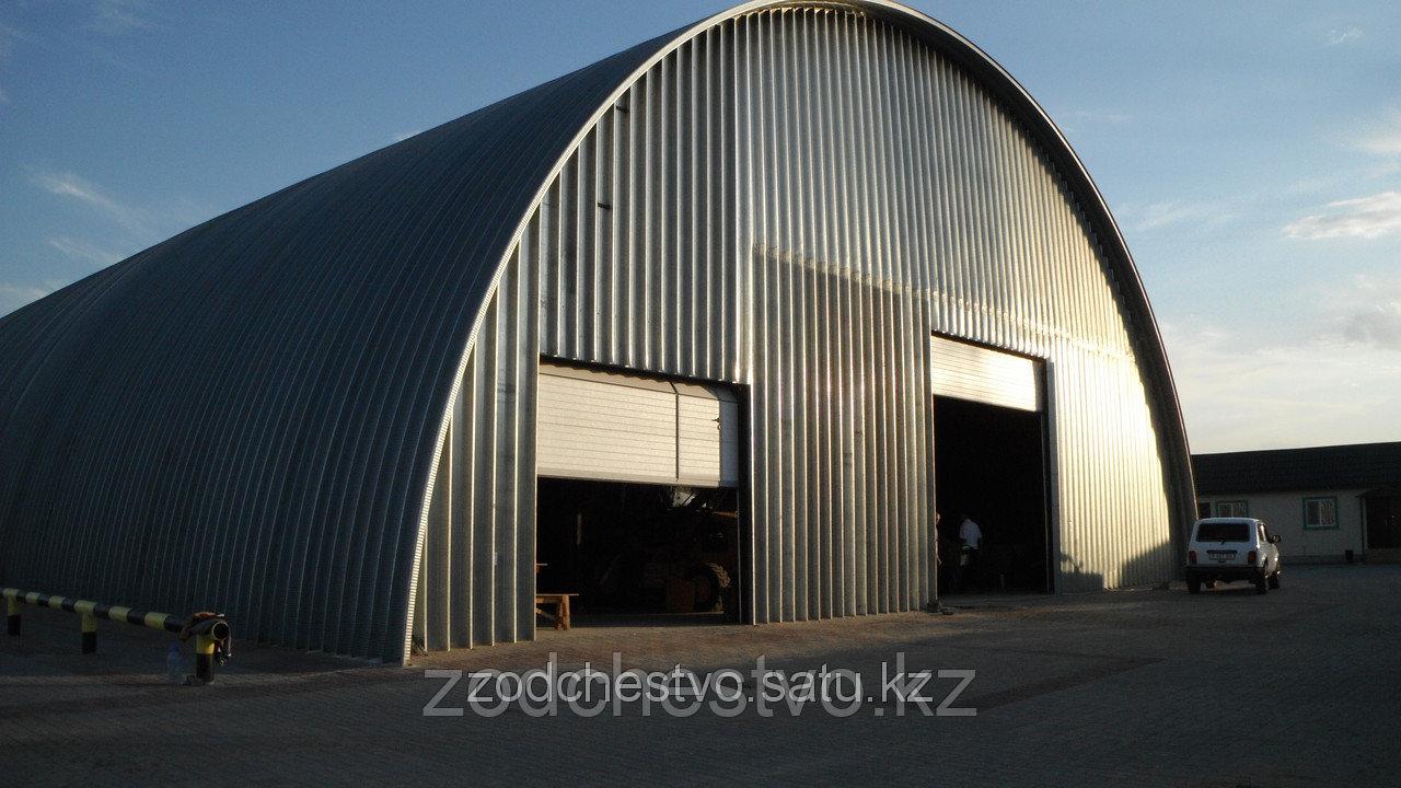 Строительство бескаркасных ангаров, складов, складских комплексов, центров и помещений