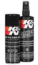 Промывка и масло для фильтра K&N