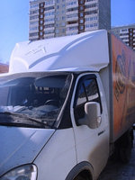 Обтекатель «GAZelle фургон» №4, 180 см, белый