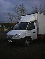 """Обтекатель «GAZelle фургон» №5, рисунок """"Олень"""", 200 см, белый"""
