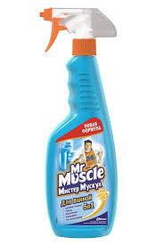 Очиститель для стекла «Мистер Мускул» 500 мл с триггером