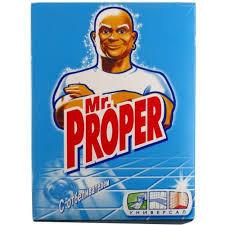 Чистящий порошок для мытья полов «Mr. Proper» 400 г