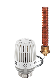 Термостатическая головка с медной трубкой