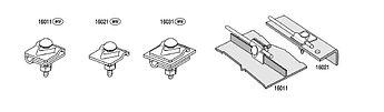 Держатель универсальный DIN, 1xM10x30, проволока Ø 5-10 mm, медь/латунь