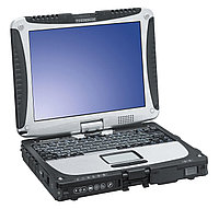 Защищенный ноутбук Panasonic CF-19mk8 TS Low temp Battery, w/o TPM, Win8.1Pro + 128GB SSD, фото 1