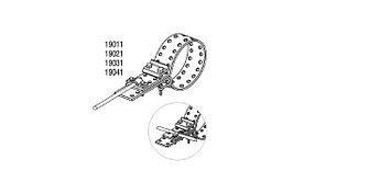 Обойма-зажим и хомут универсальный для труб Ø до 30 mm, проволока Ø 5-10 mm, серия Silver