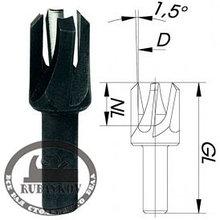 Пробочники Plug Cutter, Fisch, D8-15мм