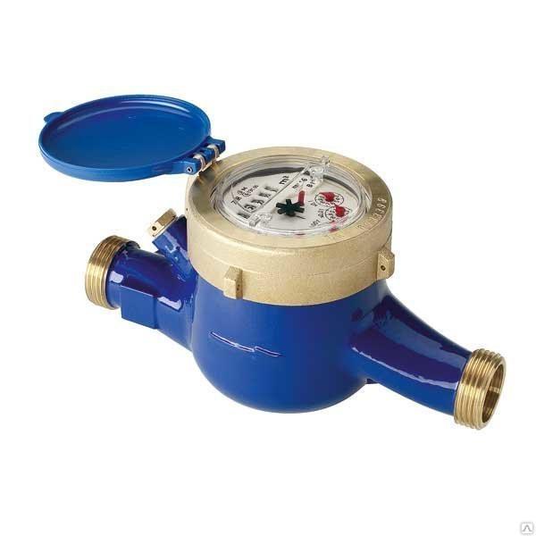 СВХДИ Миномесс М, 40°C, DN 20, Qn 2,5, L 190 mm, с имп. (10 или 100L/Imp.), с присоед.