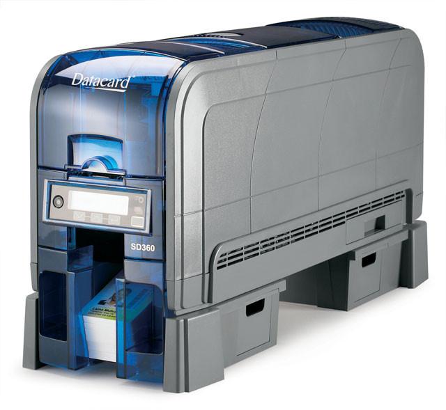 Принтер для печати пластиковых карт SD360
