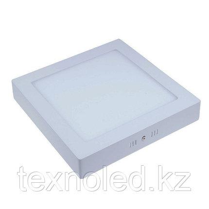 Светодиодный светильник  12W квадратный накладной, фото 2