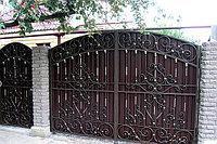 Ворота металлические кованные Алматы
