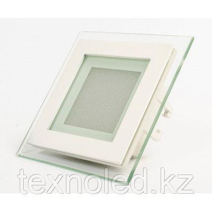 Потолочный светильник круглый  6W со стеклом, фото 2