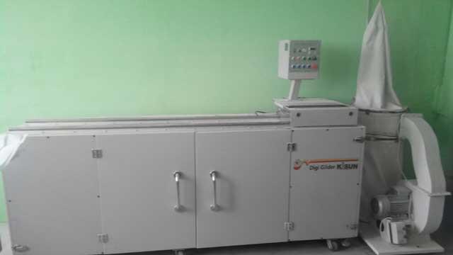 Kisun Digi Gilder-S б/у 2013г - машина для золочения блока