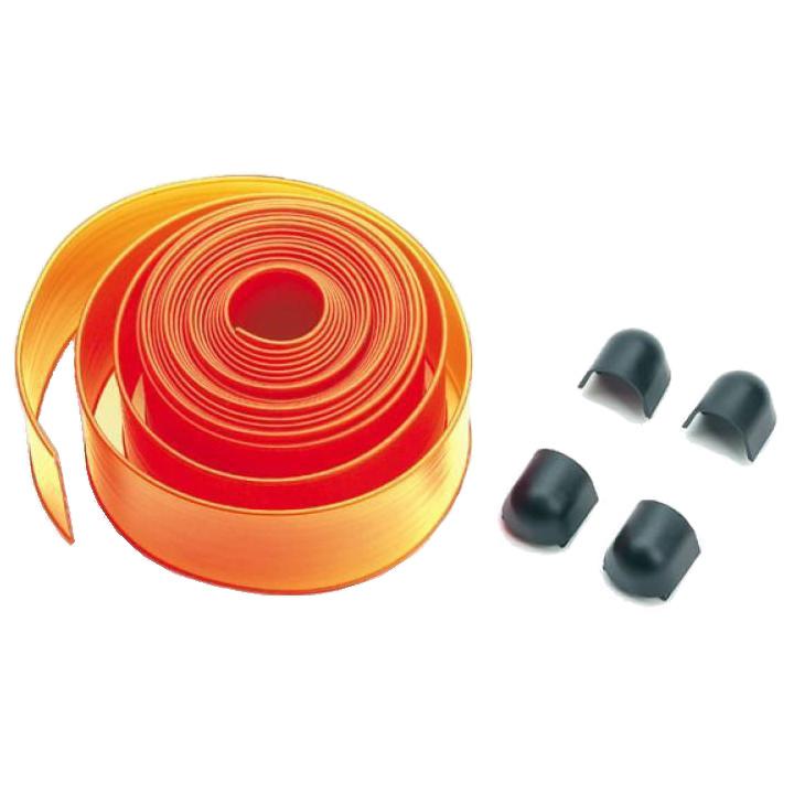 PCA4 - пластиковые  накладки ( 8 м) на стрелу, красного цвета