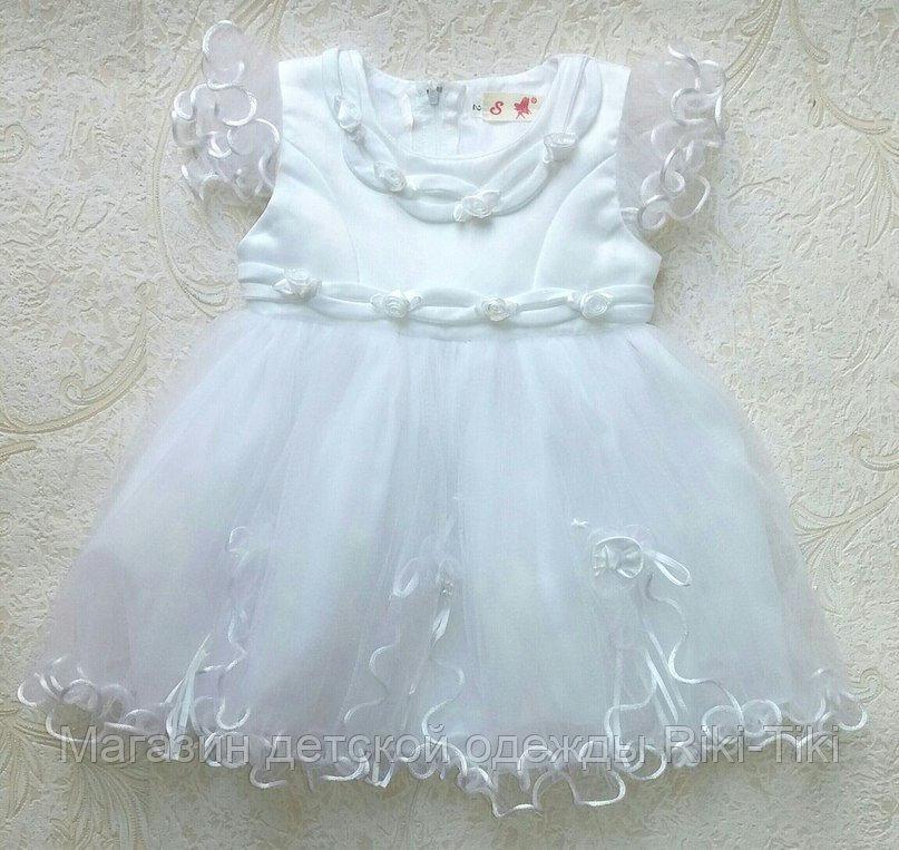 Бальное платье для малышек
