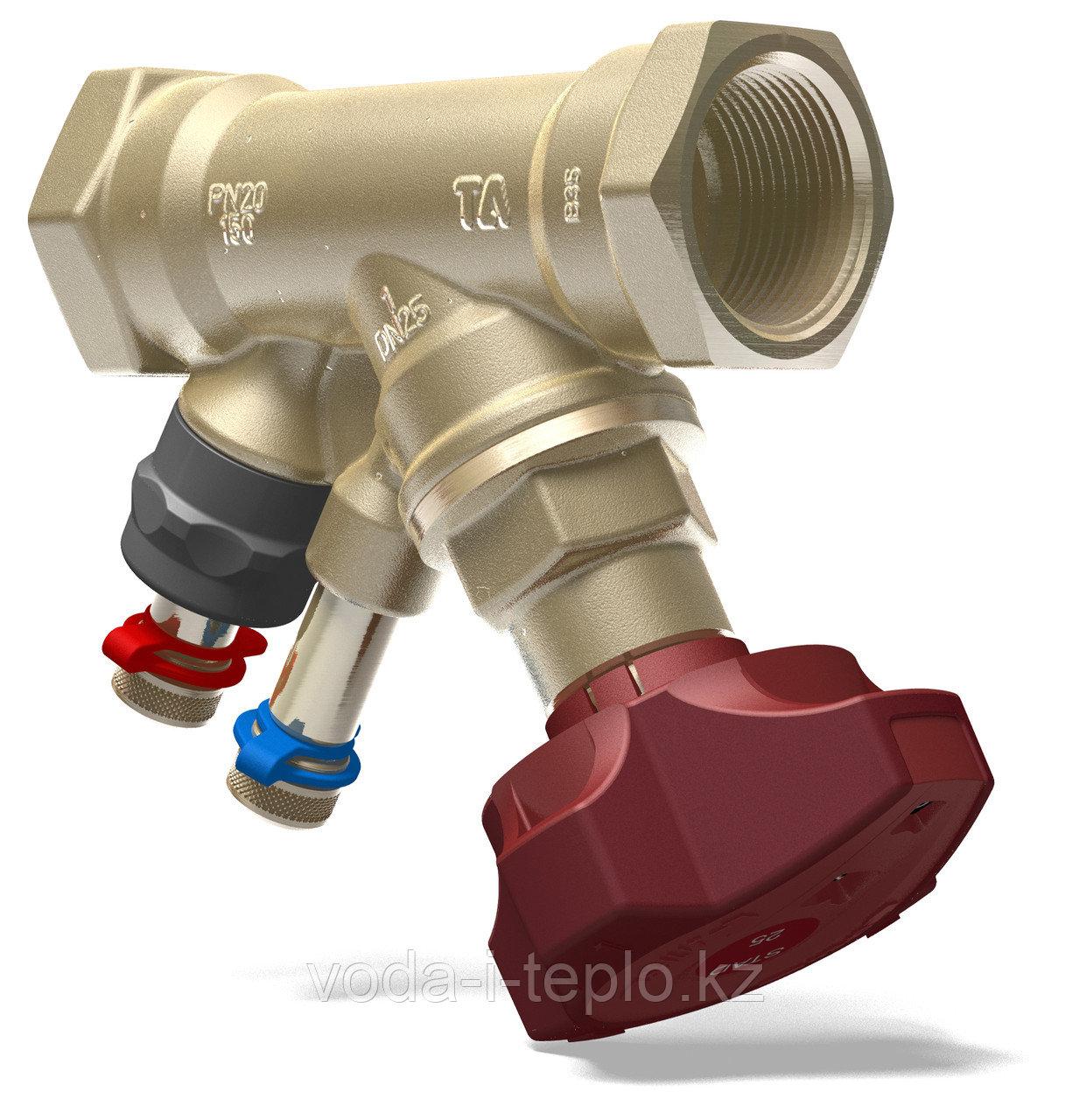Балансировочный клапан STAD (без дренажа) ф25