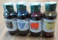 Комплект водных чернил для epson 4*100мл Dye пр-во Ломонд