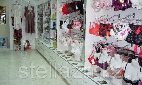Торговое оборудование для магазина нижнего белья