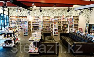 Торговое оборудование для книжного магазина