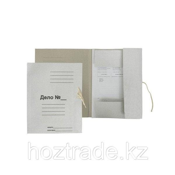 "Папка ""Дело"" для бумаг, на завязках, картон 320 г/м2"