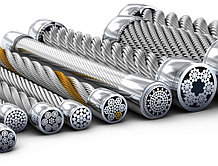 Канат для лебедки стальной d 15,5 мм ГОСТ 3071-88