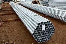 Труба водогазопроводная оцинкованная ДУ 25х3,2 ГОСТ 9.307-89 6м