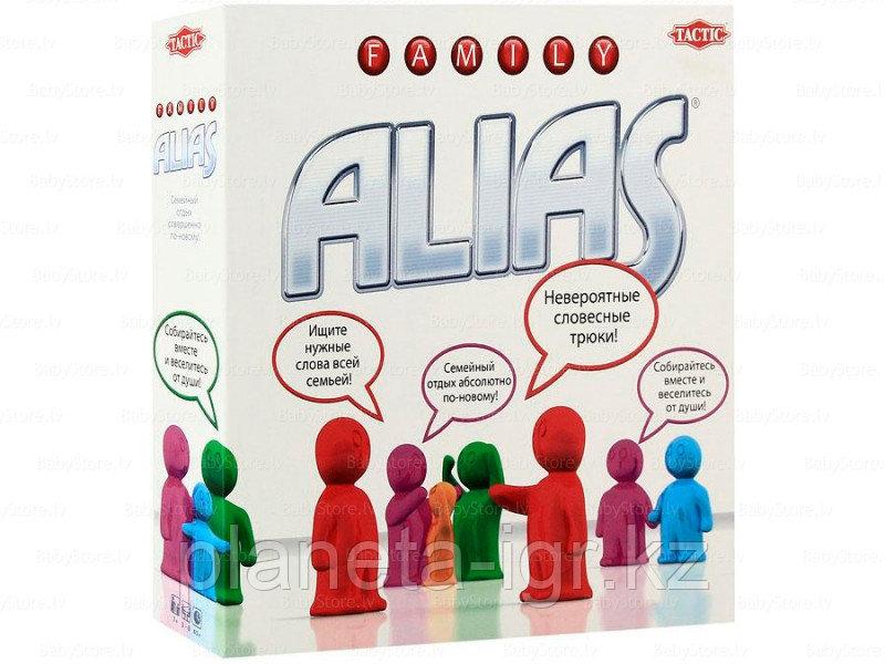 Настольная игра Элиас Семейная версия базовая