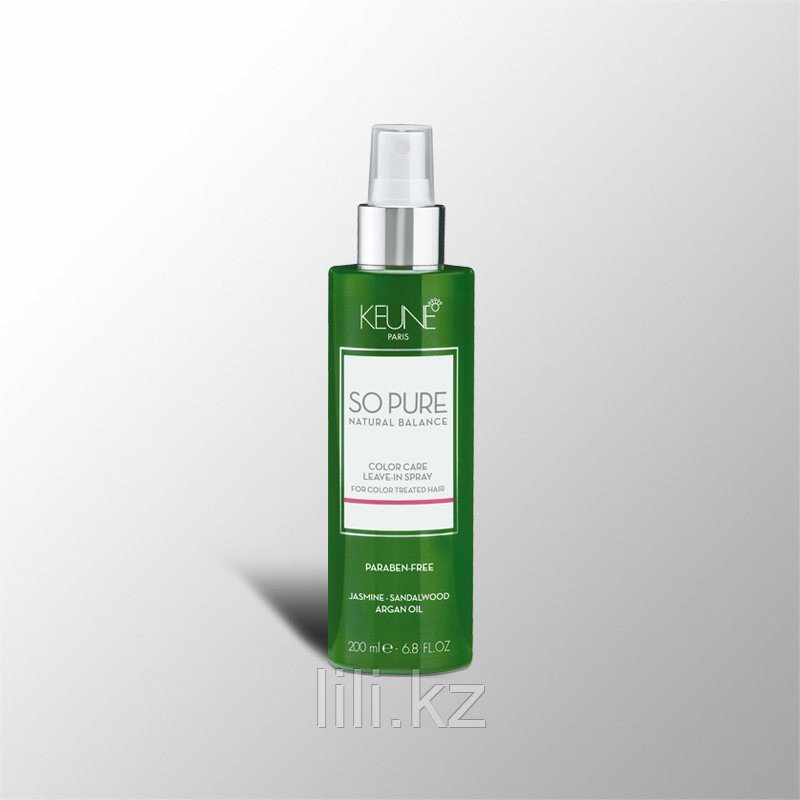 Keune So Pure Color Care Leave-In Spray – Несмываемый спрей «Забота о цвете» 200 мл.