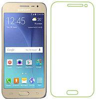 Противоударное защитное стекло Crystal на Samsung Galaxy J2