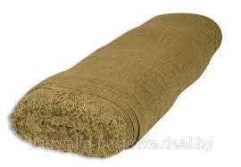 Ткань упаковочная, мешковина джутовая, плотность 194 гр/кв.м, ширина 110 см, МИНИМАЛЬНО 10 МЕТРОВ