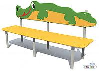Скамейка Крокодил