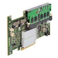DM255 Контроллер SAS RAID Dell PERC5i 256Mb BBU LSISAS1068 Int-2хSFF8484 (32-pin) 8xSAS/SATA RAID5 U300 PCI-E8x