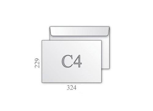 Конверт С4, белый 229*324мм