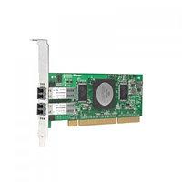 QLA2342-CK Qlogic FCA2214DC QLA2342-CK FC5010411-37 2x2Гбит/сек Dual Port Fiber Channel HBA LP PCI-X