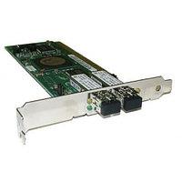 X6768A Сетевой Адаптер Sun (Qlogic) FCA2214 DC QLA2342-CK FC5010409-23 2x2Гбит/сек Dual Port Fiber Channel HBA LP PCI-X